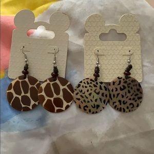 Bundle of Earrings from Disney Animal Kingdom